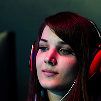 Team Just Kittin' s Tifa competes against team HLL during the SHERO Invitational of the E-Sports Festival 2017 Hong Kong at the Hong Kong Convention and Exhibition Centre on 26 August 2017 in Hong Kong, China. Photo by Yu Chun Christopher Wong / studioEAST