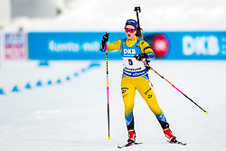 March 10, 2019 - –Stersund, Sweden - 190310 Mona Brorsson of Sweden during the Women's 10 km Pursuit during the IBU World Championships Biathlon on March 10, 2019 in Östersund. 10, 2019 in Östersund..Photo: Johan Axelsson / BILDBYRÃ…N / Cop 245 (Credit Image: © Johan Axelsson/Bildbyran via ZUMA Press)
