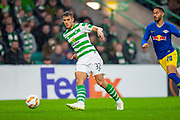 Filip Benkovic (#32) of Celtic FC during the Europa League group stage match between Celtic and RP Leipzig at Celtic Park, Glasgow, Scotland on 8 November 2018.