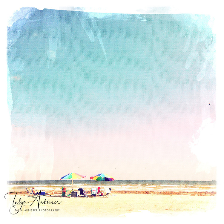 Beach bums - Galveston, Texas
