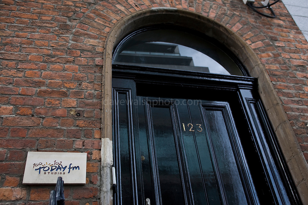 Former Today FM Studio on Dublin's Abbey Street.