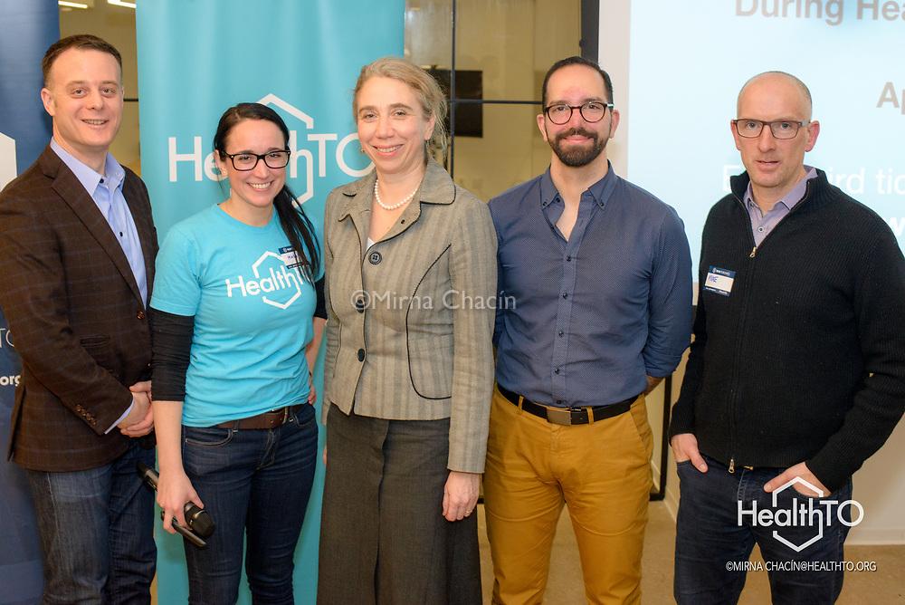Maggie Bergeron, Host at HealthTO
