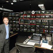 NLD/Eemnes/20060921 - Perspresentatie de Gouden Kooi, regiekamer