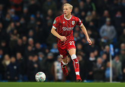 Hordur Magnusson of Bristol City - Mandatory by-line: Matt McNulty/JMP - 09/01/2018 - FOOTBALL - Etihad Stadium - Manchester, England - Manchester City v Bristol City - Carabao Cup Semi-Final First Leg