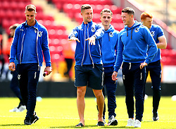 James Clarke of Bristol Rovers and his teammates arrive at The Valley for the opening day of the Sky Bet League One 2017/18 Season - Mandatory by-line: Robbie Stephenson/JMP - 05/08/2017 - FOOTBALL - The Valley - Charlton, London, England - Charlton Athletic v Bristol Rovers - Sky Bet League One