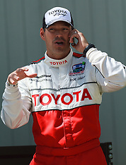 Actor Eddie Cibrian at the 2012 Toyota Celebrity/PRO Race.