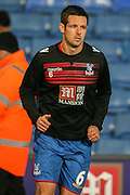 Crystal Palace defender Scott Dann  during the Barclays Premier League match between Crystal Palace and Sunderland at Selhurst Park, London, England on 23 November 2015. Photo by Simon Davies.