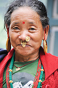 Darjeeling, West Bengal, India Portrait of a woman