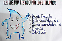 Health poster in Gutierrez, Santa Cruz, Bolivia