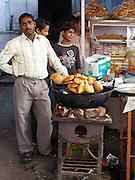 Street food seller, Amber, Rajasthan