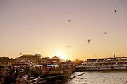 Turkey, Istanbul, Galata bridge
