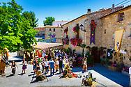 Street view. Witchery Week 2016. Bargota, Navarre, Spain, Europe.