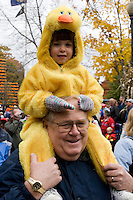 Children's Parade at Keene Pumpkin Festival