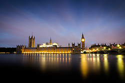 © Licensed to London News Pictures. 12/06/2017. London UK. Picture shows the house of commons at dawn this morning ahead of Theresa May's first Cabinet meeting since the General Election this afternoon. Photo credit: Andrew McCaren/LNP