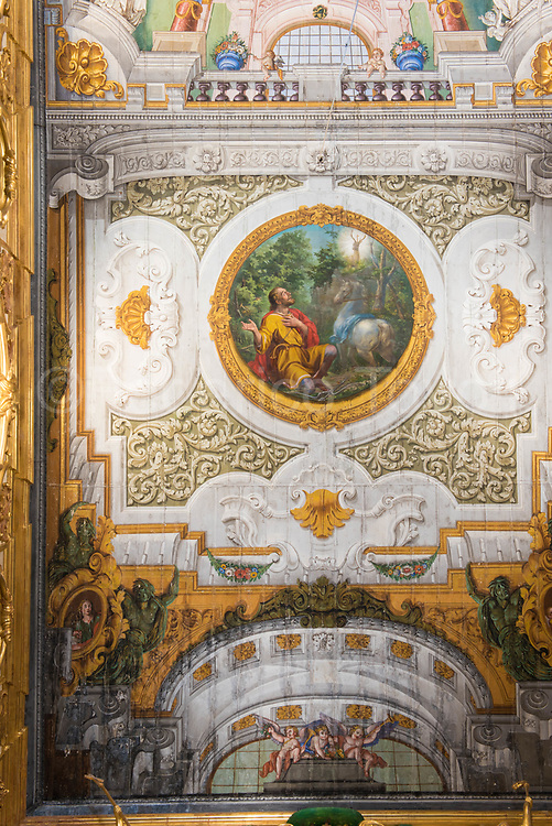 Catherdal ceiling