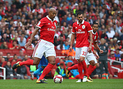 July 29, 2017 - London, United Kingdom - Luisao of Sporty Lisboa e Benfica .during Emirates Cup match between RB Arsenal against Benfica  at Emirates Stadium on 29 July 2017  (Credit Image: © Kieran Galvin/NurPhoto via ZUMA Press)