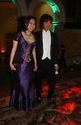 Andy and Patti Wong, Belle Epoche gala fundraising dinner. National Gallery. 16 March 2006. ONE TIME USE ONLY - DO NOT ARCHIVE  © Copyright Photograph by Dafydd Jones 66 Stockwell Park Rd. London SW9 0DA Tel 020 7733 0108 www.dafjones.com