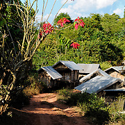 A small village in Luang Namtha province in northern Laos.