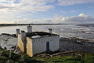 Bathhouse on the Sligo Bay on November 29, 2011 in Sligo, Ireland.