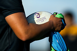 European Challenge Cup ball during Wasps training ahead of the European Challenge Cup fixture against SU Agen - Mandatory by-line: Robbie Stephenson/JMP - 18/11/2019 - RUGBY - Broadstreet Rugby Football Club - Coventry , Warwickshire - Wasps Training Session