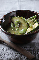 A mexican vegetable stew from Oaxaca, Una sopa de verduras de Oaxaca. Recipe Available, Receta Disponible.