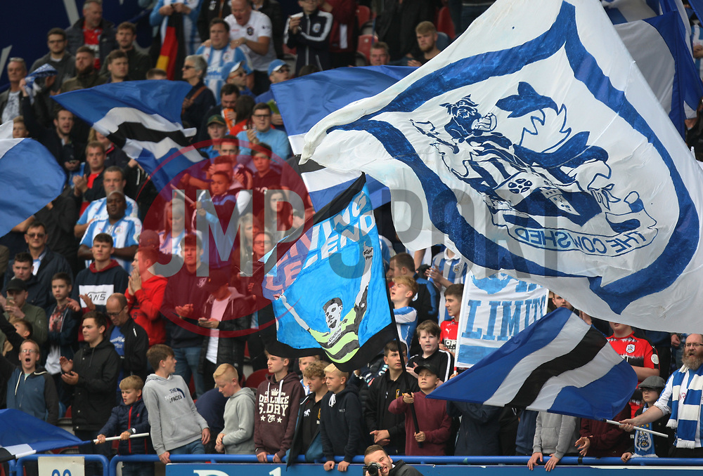 General view of Huddersfield Town fans - Mandatory by-line: Jack Phillips/JMP - 16/09/2017 - FOOTBALL - The John Smith's Stadium - Huddersfield, England - Huddersfield Town v Leicester City - English Premier League