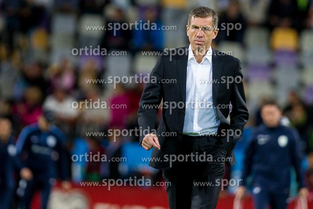 Srecko Katanec, head coach of Slovenia during the EURO 2016 Qualifier Group E match between Slovenia and Estonia at Ljudski vrt on September 8, 2015 in Maribor, Slovenia. Photo by Urban Urbanc / Sportida