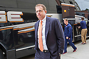 FAYETTEVILLE, AR - OCTOBER 24:  Head Coach Gus Malzahn of the Auburn Tigers walks into the stadium before a game against the Arkansas Razorbacks at Razorback Stadium Stadium on October 24, 2015 in Fayetteville, Arkansas.  (Photo by Wesley Hitt/Getty Images) *** Local Caption *** Gus Malzahn