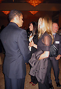 **EXCLUSIVE**.Mario Van Peebles & Jennifer Anniston.Presidential Candidate Barack Obama Fundraiser, hosted by DreamWorks Movie moguls Steven Spielberg, David Geffen and Jeffrey Katzenberg.Beverly Hilton Hotel.Hollywood, California, USA.Tuesday, February 20, 2007.Photo by Celebrityvibe.com; .To license this image please call (212) 410 5354 ; or.Email: celebrityvibe@gmail.com ;
