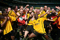 Photo: Jonathan Butler.<br /> <br /> Northwich v Bradford Salem. EDF Energy Senior Vase Final. 15/04/2007. Northwich celebrate victory