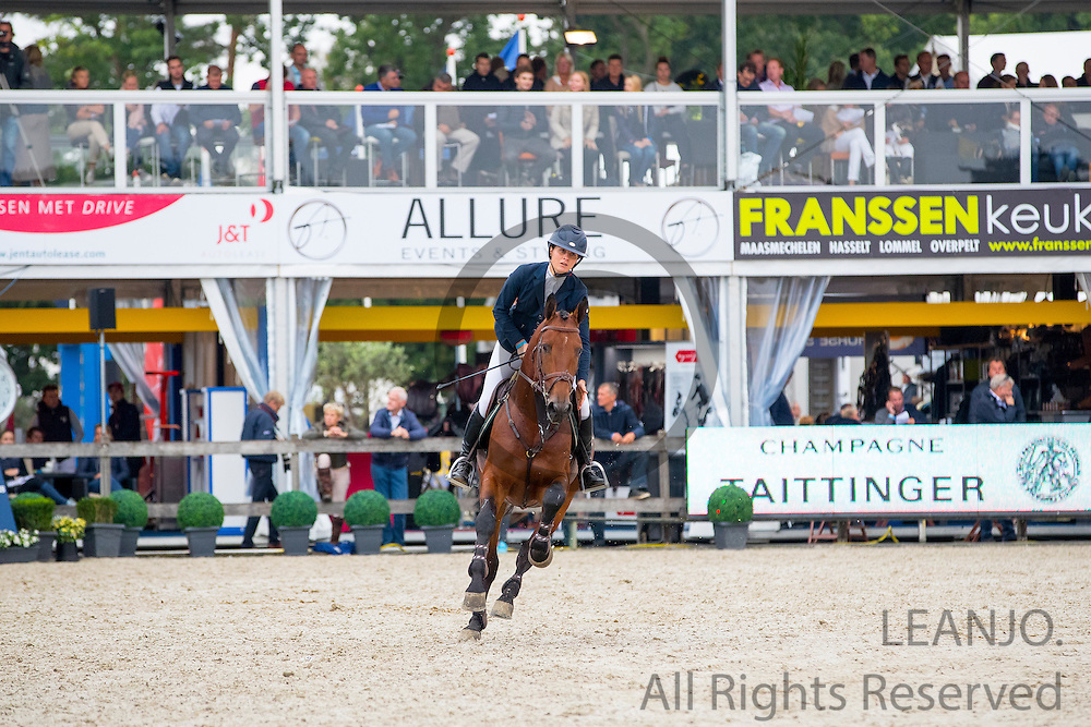 Jil Verheij - Agana van het Gerendal Z<br /> FEI World Breeding Jumping Championships for Young Horses 2016<br /> © DigiShots