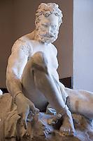 Prometheus Bound Sculpture at Elizabet Ney Museum, Austin, Texas.