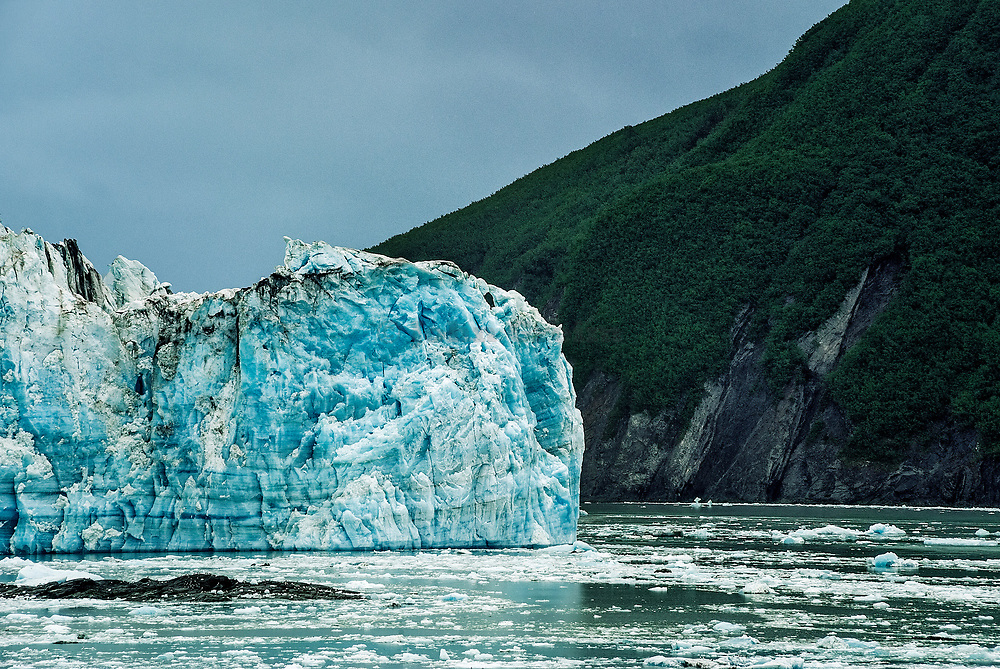 Hubbard Glacier, Disenchantment Bay, Alaska, USA.