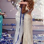 NLD/Hilversum/20080301 - Finale Idols 2008, Nathalie en Nikkie, uitslag
