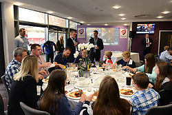 Bristol Rugby Director of Rugby Andy Robinson is interviewed in the Heineken Lounge - Mandatory byline: Dougie Allward/JMP - 07966386802 - 20/09/2015 - RUGBY - Ashton Gate -Bristol,England - Bristol Rugby v Nottingham Rugby - Greene King IPA Championship
