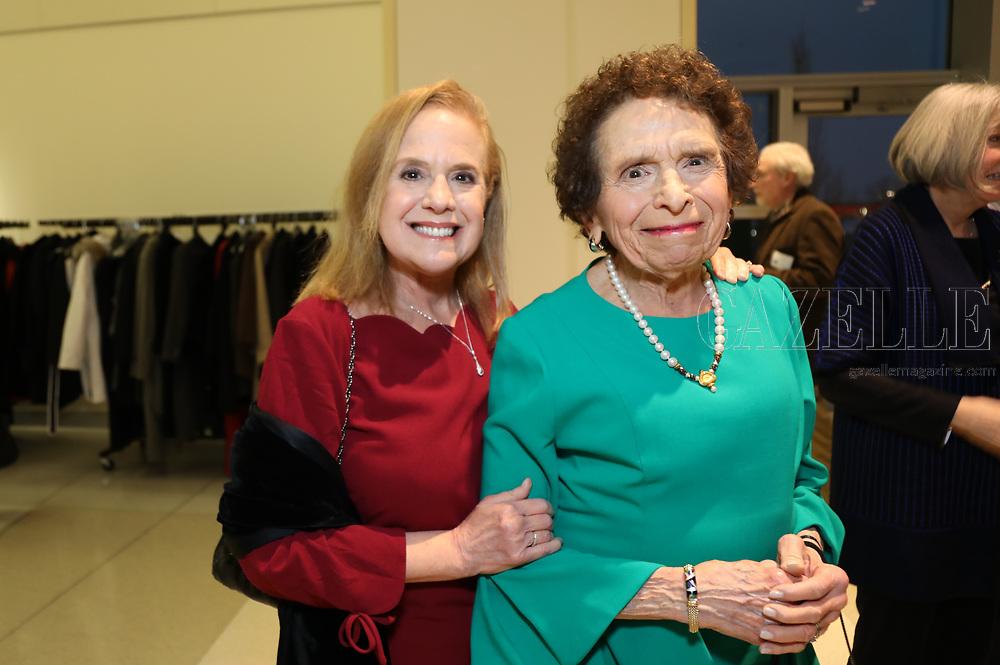 Barbara Shuman, Esther Langsam