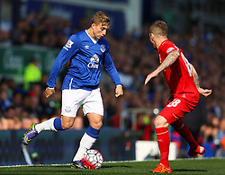 Gerard Delofeu of Everton - Mandatory byline: Matt McNulty/JMP - 07966 386802 - 04/10/2015 - FOOTBALL - Goodison Park - Liverpool, England - Everton  v Liverpool - Barclays Premier League