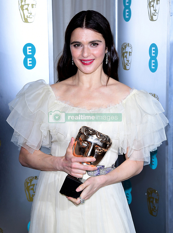 Rachel Weisz attending the after party for the 72nd British Academy Film Awards at the Grosvenor House Hotel in central London.