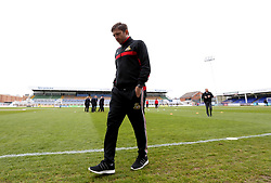 Doncaster Rovers coach and former Hartlepool United player Gavin Strachan arrives at The Northern Gas and Power Stadium ahead of the League Two fixture between the two clubs - Mandatory by-line: Robbie Stephenson/JMP - 06/05/2017 - FOOTBALL - The Northern Gas and Power Stadium (Victoria Park) - Hartlepool, England - Hartlepool United v Doncaster Rovers - Sky Bet League Two