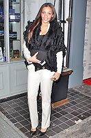 LONDON - December 18: Amal Fashanu at the Snow Queen Vodka 2013 - Calendar Launch Party (Photo by Brett D. Cove)