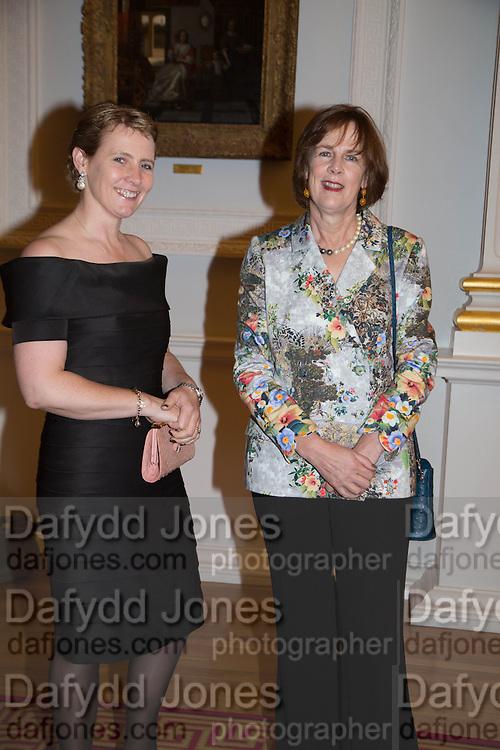 The Hon Mrs Drummond-Herdman; Mrs. james knox, The National Trust for Scotland Mansion House Dinner. Mansion House, London. 16 October 2013