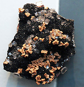 Iron-stained dolomite with quartz and hermatite Florence mine, Cumbria