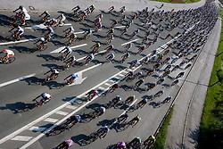 Riders during cyclig Marathon Franja BTC City - Johan Museeuw Classic (156km), on June 12, 2011 in Ljubljana, Slovenia.  (Photo By Vid Ponikvar / Sportida.com)