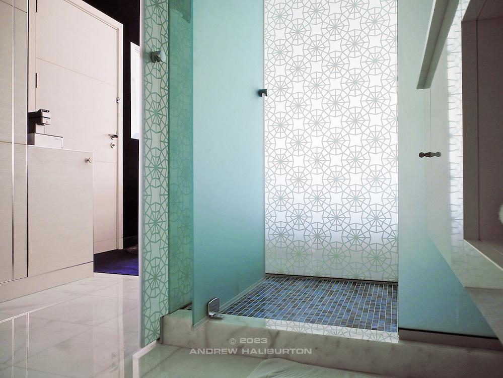 Bathroom detail, Le Meridien Hotel, Al Khobar, Saudi Arabia