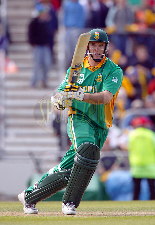 25 February, 2004. Carisbrook, Dunedin, New Zealand. ODI Series. New Zealand v South Africa..Graeme Smith..Pic: Photosport