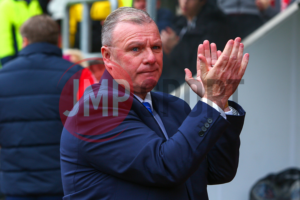 Peterborough United manager Steve Evans - Mandatory by-line: Ryan Crockett/JMP - 30/03/2018 - FOOTBALL - Aesseal New York Stadium - Rotherham, England - Rotherham United v Peterborough United - Sky Bet League One