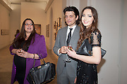 PALOMA BAILEY; FENTON BAILEY; SARAH STANBURY, Opening of Bailey's Stardust - Exhibition - National Portrait Gallery London. 3 February 2014