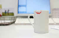 Lipstick Print on Coffee