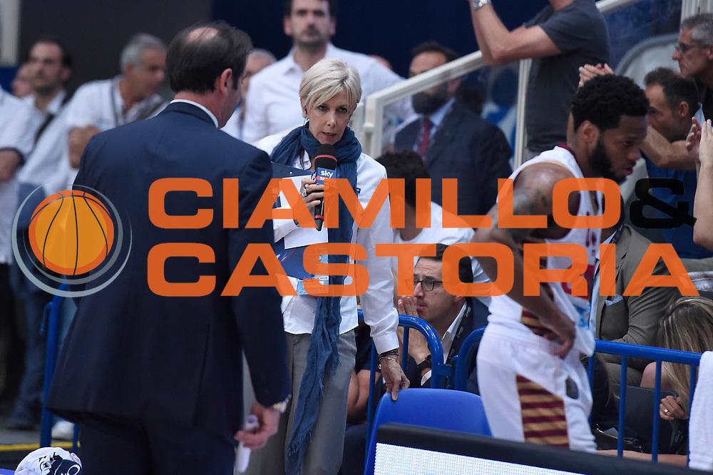 Claudia Angiolini<br /> Dolomiti Energia Aquila Basket Trento - Umana Reyer Venezia<br /> Lega Basket Serie A 2016/2017<br /> Playoff, finale gara 3<br /> Trento, 14/06/2017<br /> Foto M.Ceretti / Ciamillo-Castoria