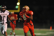 Lafayette High's Tyrell Price (8) vs. New Albany on Homecoming in Oxford, Miss. on Friday, October 18, 2013.